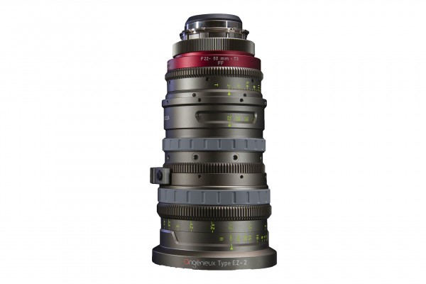 Angénieux Type EZ-2 Pack (S35mm and FF) 14-40mm F1.9/T2, 2.7x Zoom Factor (with optical FF Rear Moun