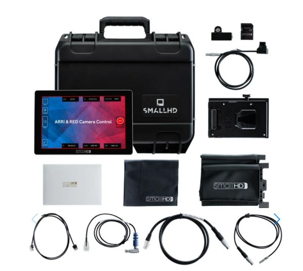 "SmallHD Cine 7 7"", 1800Nits, DCI-P3 Color Touchscreen Monitor + V-Mount Kit"
