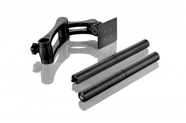 INOVATIV Boa Universal – Arm, Head Plate, 800mm 2 part Post, Pair Monitor Arm Clamps, Mounting