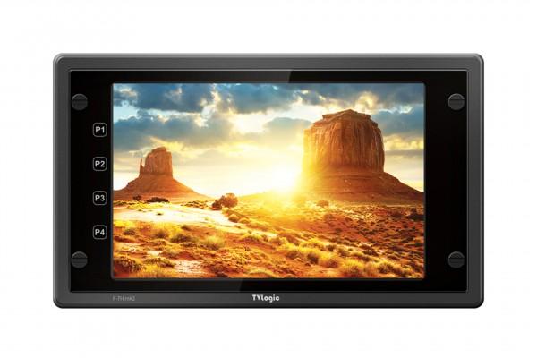 "TVlogic F-7H MK2 7"", Full-HD, HD-SDI & HDMI, 3600Nits Field Monitor with PreTouch Keys"