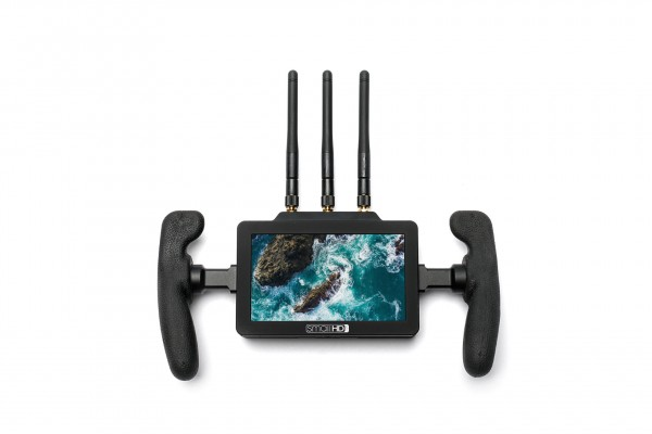 "SmallHD FOCUS 5"", 1280x720, 800nits Touchscreen Monitor with a built-in Full-HD Teradek Bolt 500 RX"